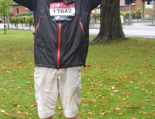 Ken Griffiths Runs the London Marathon to Raise Funds for the Haslewey